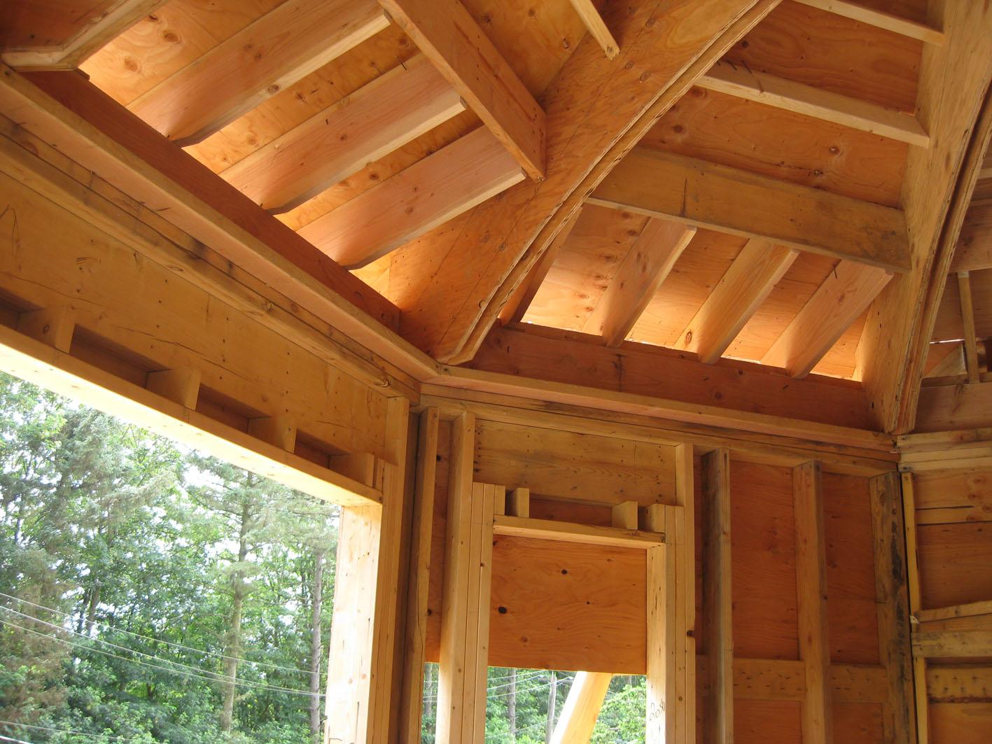 Turret Roof Framing